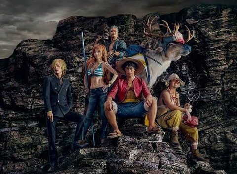 【画像】「ワンピース」、実写×アニメでドラマ化!!監督は蜷川実花、主題歌はRADWIMPSで8月30日より公開決定!!
