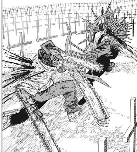 【チェンソーマン 94話感想】デンジ、めちゃくちゃ強くなる!!これこそがビームが期待した戦い方だろうなw