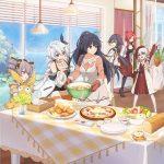 「崩壊3rd」スピンオフショートアニメ「戦乙女の食卓」が7/7より放送