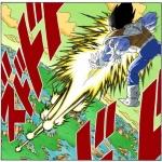 【ドラゴンボール】ベジータの「連続エネルギー弾(通称グミ打ち)」って結構合理的な技だよな!!