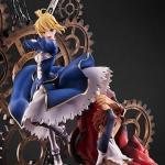 士郎とセイバーが凛々しい!『Fate』イリヤスフィールの聖杯「無限の剣製」が再現された15周年記念フィギュア登場! –