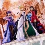 ヒロイン達と共に歩んだ15年の軌跡……『「Fate/stay night」 ~15th Celebration Project~』より、セイバー・遠坂凛・間桐桜がスケールフィギュアになって登場 |