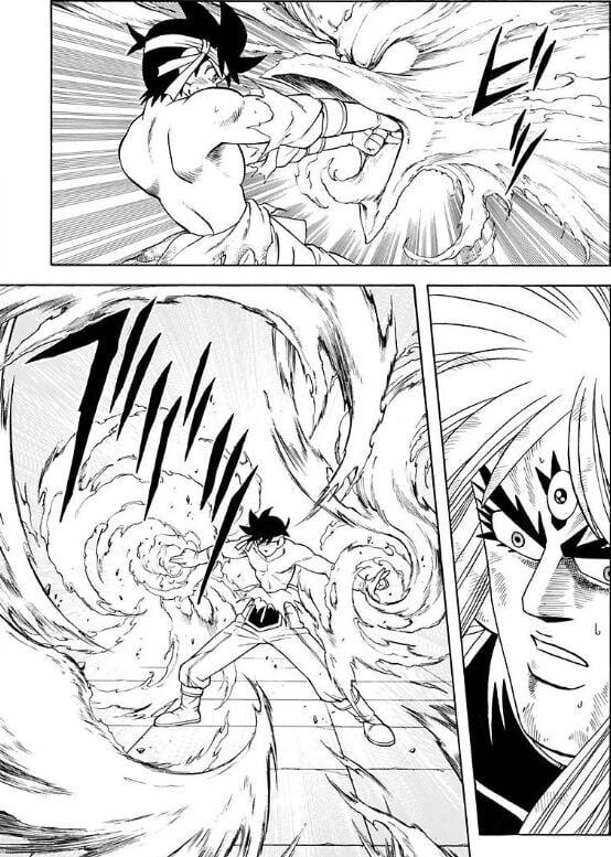【ダイの大冒険】一人でメドローアを撃つ大魔道士ポップ、蒼天のソウラで創作扱いされる