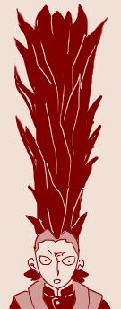 【鬼滅の刃】 不死川玄弥に黒死牟の髪の毛を食べさせまくるコラ、絵面がヤバすぎるw