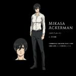 【進撃の巨人】4年後の調査兵団メンバーのアニメビジュアルが公開 ミカサが完全にイケメンの男過ぎる
