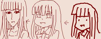 【ひぐらし】聖ルチーア学園入ってからの古手梨花ちゃんは顔がのっぺりしてない?