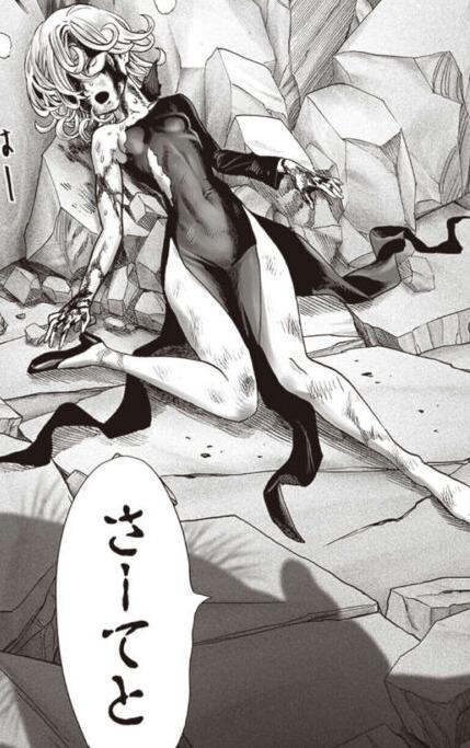 【ワンパンマン】タツマキ顔面崩壊パンチ、村田版でもやるんだろうか?