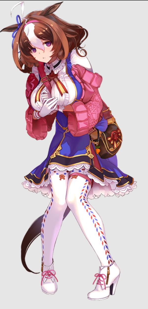 【ウマ娘】メジロマックイーンにちんちくりんなイメージがあるのは高身長のゴルシがいつも横にいるからなのかな?