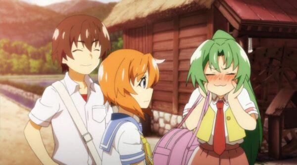 アニメ『ひぐらしのなく頃に卒』5話の先行カットが公開!包丁構えた梨花ちゃん可愛い