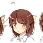 【画像】「キャラの絵柄」の違いを20年前から現在まで描いてみた結果w
