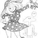 【ヒロアカ】堀越先生がTwitterに投稿した小森希乃子ちゃんが可愛すぎる件w