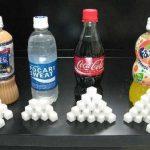 【画像】コカコーラに使われてる角砂糖の数ヤバすぎワロタw