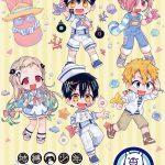 「花子くん」がロールアイスやタピオカに! オリジナルグッズも販売♪ 大阪・徳島にてコラボ開催