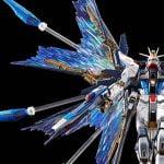 """「ガンダムSEED DESTINY」ストライクフリーダムの""""光の翼""""、スーパードラグーン射出を再現! 拡張エフェクトパーツ""""天空の翼""""再販"""