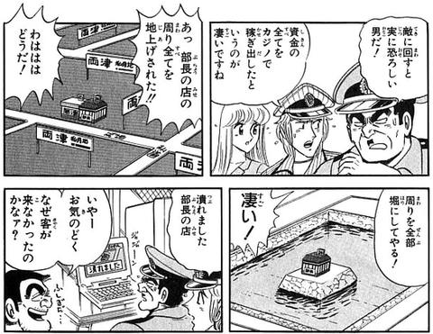 【画像】「こち亀」の両津勘吉さん、マグマに落ちても「あぢぢぢw」で済んでしまうw