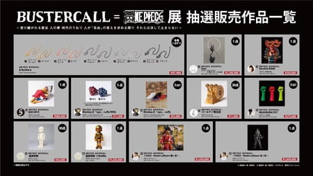 【画像】ワンピース、展示品を「破格の値段」で抽選販売するw