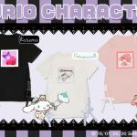 『サンリオ』×「アベイル」ゴスロリ風Tシャツワンピ登場!サイドのレースアップが可愛い「マイメロ」「シナモン」デザイン