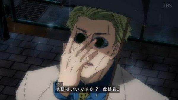 今週のアニメ「呪術廻戦」感想、1年ズの前に東堂と真依が登場!狗巻先輩の「動くな」は痺れたな!【8話】