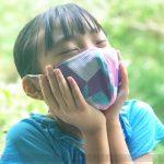 水で濡らすひんやり冷感マスク発売