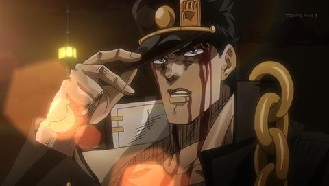 【画像】「ジョジョ」の空条承太郎フィギュア、まるでアニメのようになるw