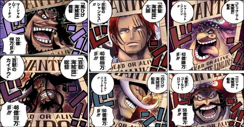四皇「カイドウ」「ビッグマム」←わかる「黒ひげ」←わからんでもない「シャンクス」←こいつ