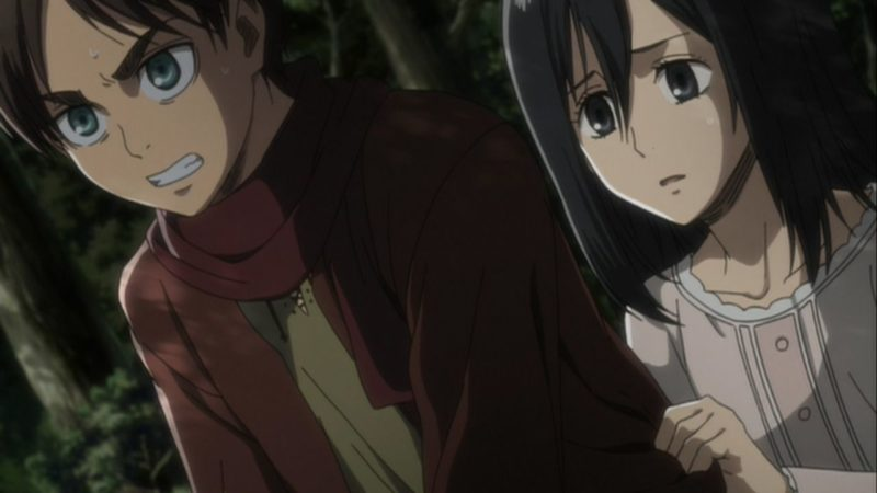 【悲報】アニメ「進撃の巨人」のミカサさん、容姿が劣化しすぎw