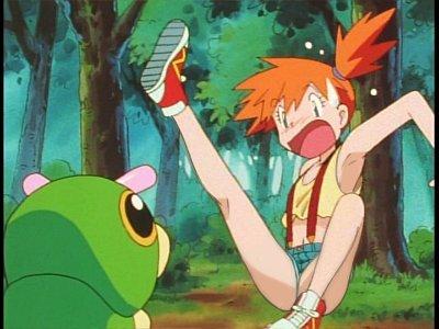 【画像】ポケモンのカスミ「靴下が嫌いでいつも素足でスニーカーを履いている」←これ