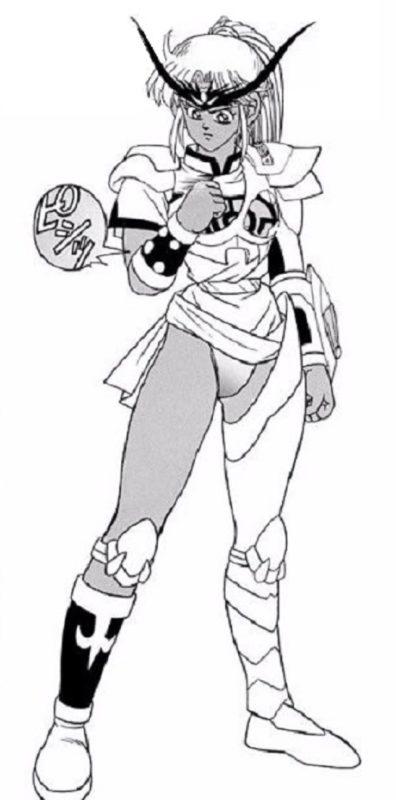 【悲報】アニメ「ダイの大冒険」の武闘家マァムさん、黒タイツを履かされ魅力が半減してしまう