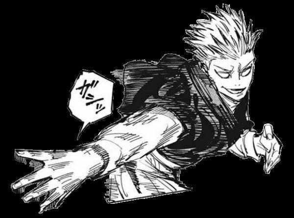 【呪術廻戦】禪院直哉くん、最新話で投射呪法を使い光速のパイタッチ