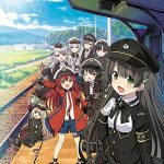 鉄道擬人化少女たちを描く「まいてつ」の新シリーズ「レヱル・ロマネスク」が2020年秋にアニメ化決定!
